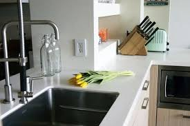 countertop material all about synthetic solid surface countertops kitchn
