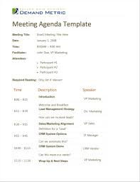agenda sample template promissory note free download