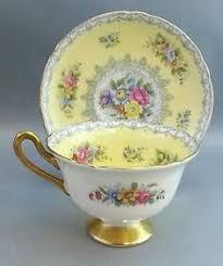 details about shelley england fine bone china gold trim ludlow