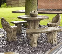 Outdoor Furniture Patio Sets - borderstone woodland garden furniture patio set gardensite co uk