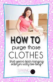 master closet organization purge spring cleaning 365