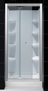 bifold shower door frameless dreamline butterfly frameless bi fold shower door 30 by 60