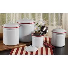 enamel kitchen canisters furniture bird white ceramic kitchen canister sets for kitchen