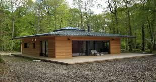 Maison En Bois Cap Ferret France Normandie Une Maison à Ossature Bois Carrée En Pleine