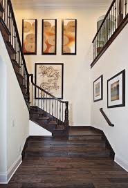 walnut residence asian staircase orange county by