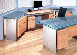 glass top office desk office table glass top themoxie co