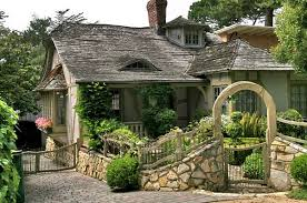 Cottage House Fairy Carmel Cottage House In California