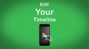 Google Timeline Maps Google Maps Edit Your Timeline Youtube