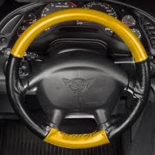 corvette steering wheel cover corvette steering wheel cover wheelskins style two color