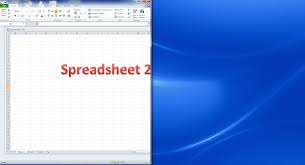 How To Do Excel Spreadsheets How Do I View Two Excel Spreadsheets At A Time Libroediting