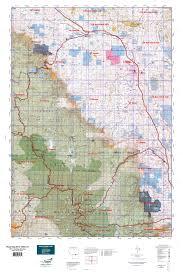 Goo Map Wyoming Elk Gmu 37 Map Mytopo