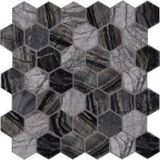 Henley Floor Plans Ms International Henley Hexagon 12 In X 12 In X 10 Mm Natural