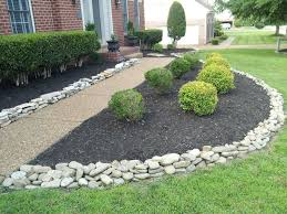 image of stone mulch how landscape with stone mulch u2013 design and