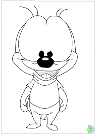 chip and dale coloring pages dinokids org