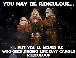 Star Wars Christmas Meme - wtf the star wars holiday special 1978 1 2 3 wtf watch the film