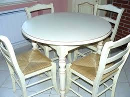 table de cuisine ronde blanche conceptkicker co