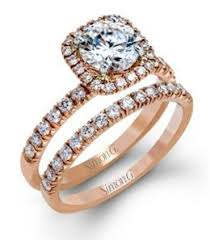 Engagement Rings And Wedding Band Sets by Simon G Kranichs Jewelers