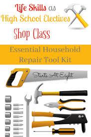 household repairs life skills as high school electives essential household repair