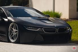 Black Bmw I8 Bmw I8 Edrive Coupe Vossen Wheels Black Pearl Provocative