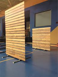 How To Make Cheap Room Dividers Create A Moveable Partition Wall On Rollers For Functional