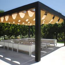 Exterior Shades For Patios Superior Roman Shades Outdoor Shading Solutions
