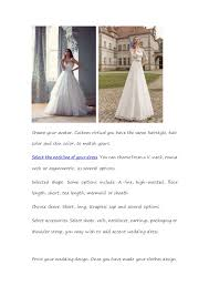 design your wedding dress create your wedding dress vosoi