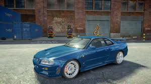 nissan skyline fast and furious 6 gta gaming archive