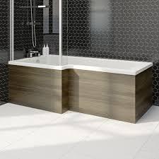 orchard wye walnut shower bath front panel 1700mm victoriaplum com
