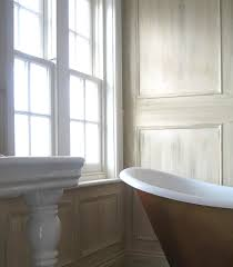 Painting Panneling Painting Fabulous Bathtub Near Glass Window Suited For Painted