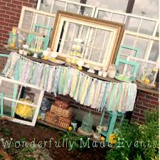 vintage baby shower ideas vintage baby shower with mint and gray baby shower ideas shops