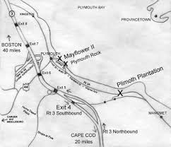 Plymouth Massachusetts Map by About Plimoth Plantation