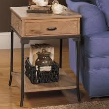 null furniture chairside table null furniture 2013 rectangular end table with metal legs