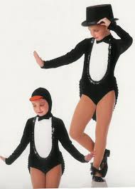 halloween dance costumes penguin parade tux tails showgirl halloween jazz tap dance costume