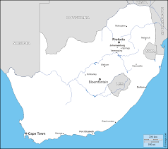 Port Elizabeth South Africa Map by South Africa Free Map Free Blank Map Free Outline Map Free