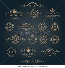 monogram websites monogram stock images royalty free images vectors