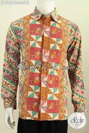 desain baju batik halus baju batik kantor kemeja batik halus motif bagus lengan panjang