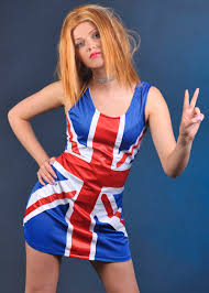 Ginger Spice Halloween Costume Spice Fancy Dress Union Jack Dress