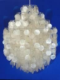 Pearl Chandelier Light Vintage Fun 0 Dm Mother Of Pearl Chandelier By Verner Panton For