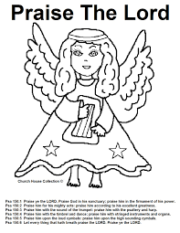 angel coloring pages to print church house collection blog angel