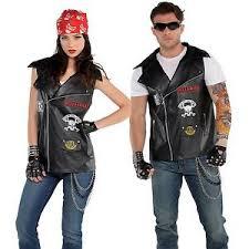 Halloween Costumes Biker Biker Fancy Dress Ebay