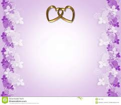 wedding invitation background free download wedding invitation lavender gold hearts stock image image 4617221