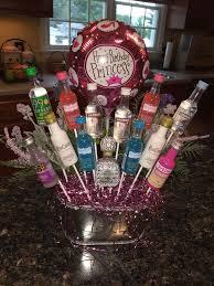 Liquor Bottle Cake Decorations Best 25 Liquor Bouquet Ideas On Pinterest Alcohol Bouquet 21