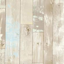 brewster home fashions dean neutral distressed wood panel