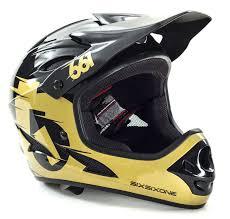 sixsixone motocross helmet sixsixone downhill mtb helm comp schwarz gold 2015 maciag offroad