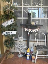 Nautical Themed Mailboxes - add some curb appeal to your home with this nautical themed porch