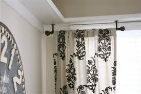 Ceiling Mounted Shower Curtain Rods by Contemporary Bedroom Style With Short Round Ceiling Mounted Shower