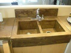 Concrete Kitchen Sink by Custom Triple Sink Kitchen Concrete Countertop With Concrete
