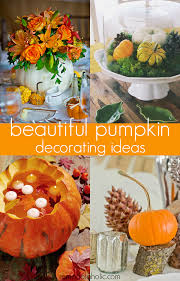 remodelaholic beautiful and easy pumpkin tablescape ideas for