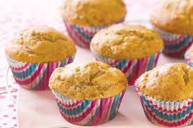 banana honey and cinnamon muffins