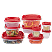 amazon com rubbermaid easy find lids food storage container 18